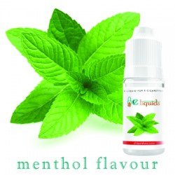 Menthol E-liquid with Nicotine for E-cigarettes