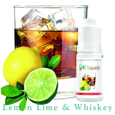Lemon Lime and Whiskey E liquid
